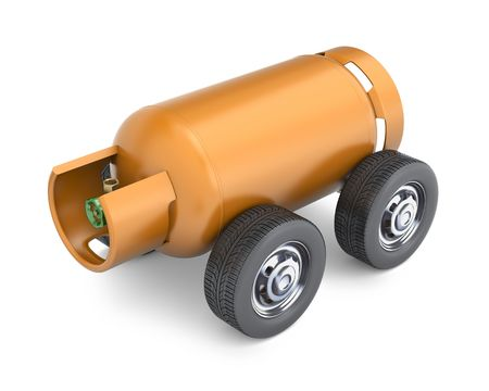 propane tank: LPG drive