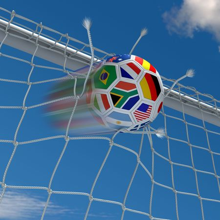 worldcup: Beginning of the championship Stock Photo