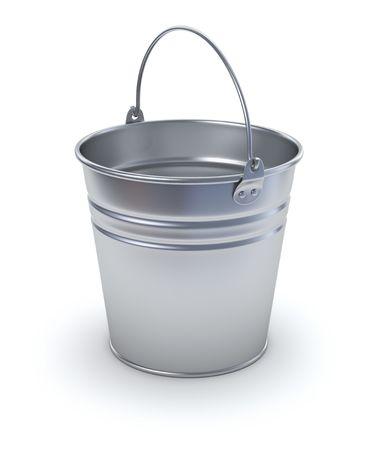 garden fountain: Bucket