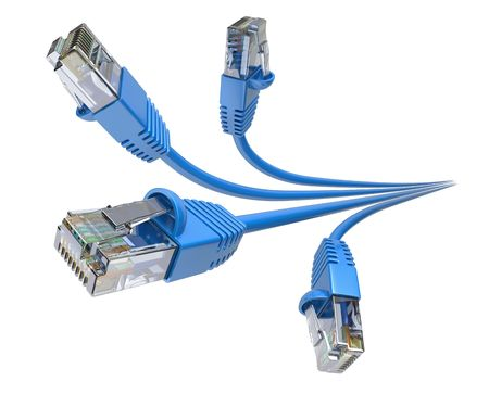 blue network: Network Cables