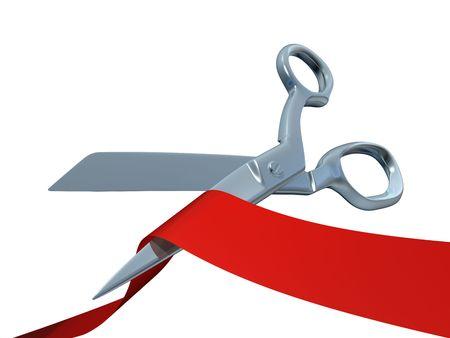 Ceremonial scissors photo