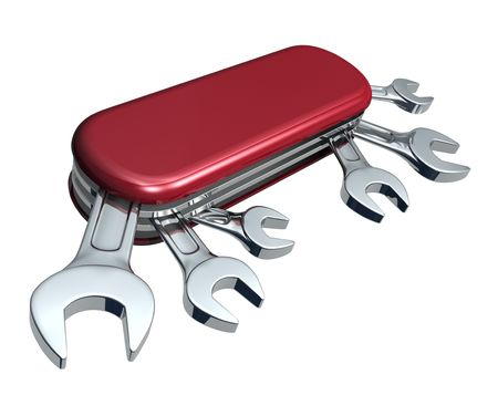 swiss: Swiss knife with spanners