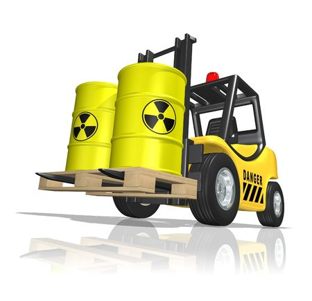 Nuclear waste Stock Photo - 6472739