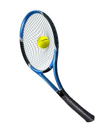 Tennis serving photo