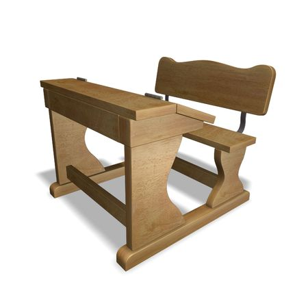 Old school bench Stock Photo - 6472768