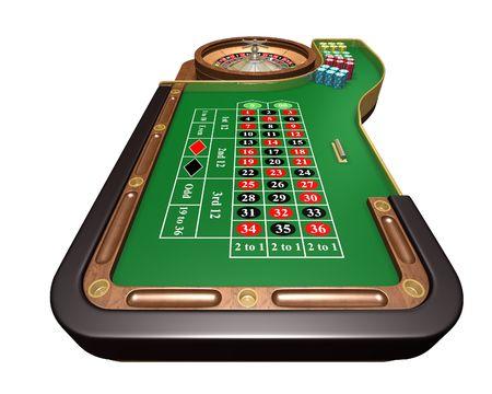 roue de fortune: Table de roulette
