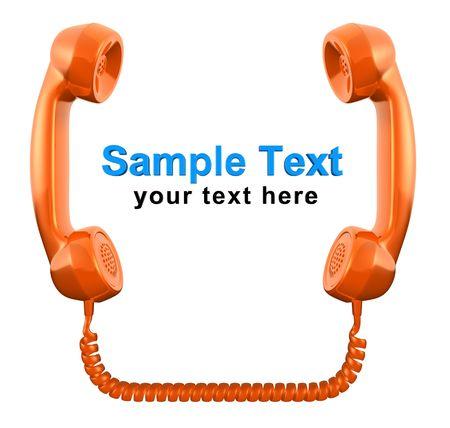 Contact (3D concept) Stock Photo - 6472890