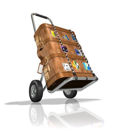 valise: Globe-Trotter Luggage