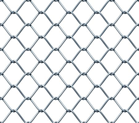 chainlink fence: Seamless Chainlink Fence Stock Photo