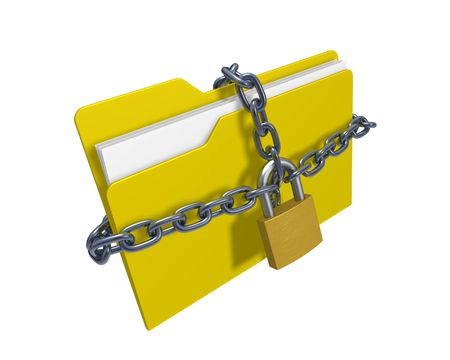 Confidential files Stock Photo - 6516431
