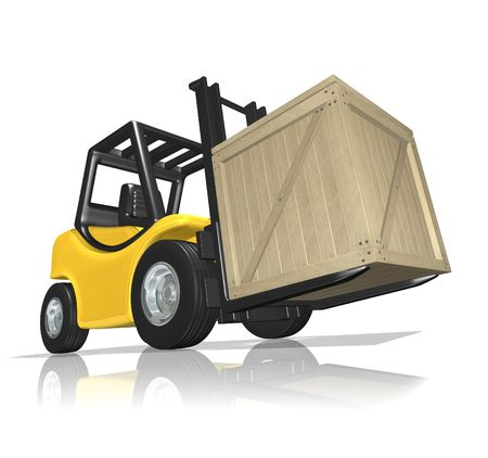 Delivery in the crate Stock Photo - 6516447
