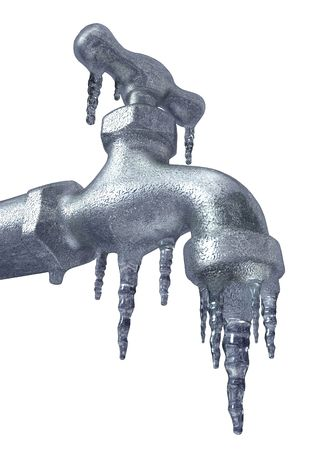 Frozen Faucet Stock Photo - 6516449