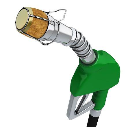 biodiesel: Fuel prices go down Stock Photo