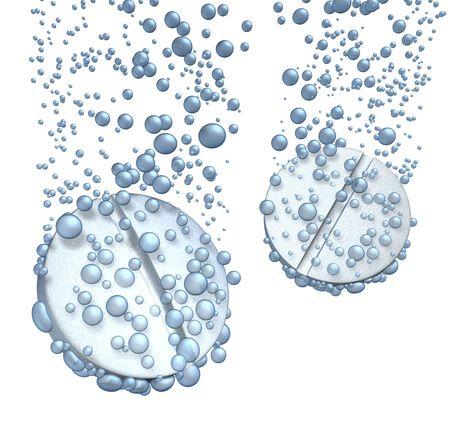 effervescent: Tablet Dissolving