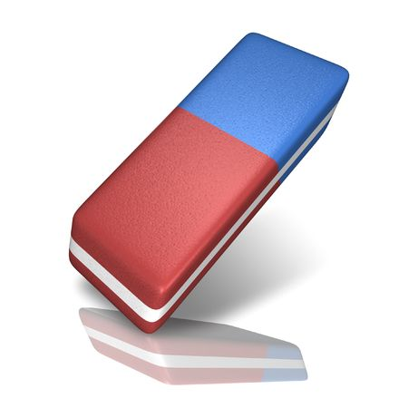 revision: Eraser Stock Photo