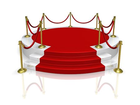red carpet event: Platform
