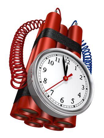 bomba a orologeria: Conto alla rovescia