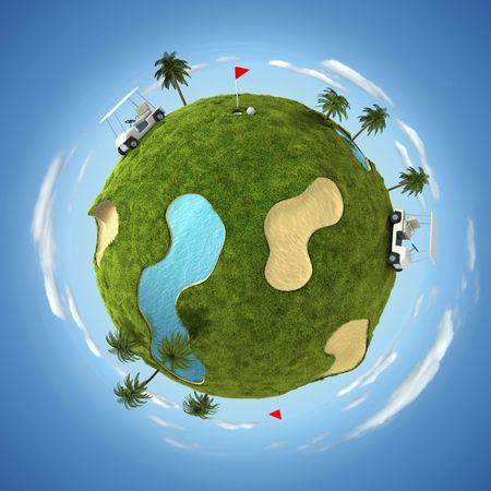 play golf: World of golf