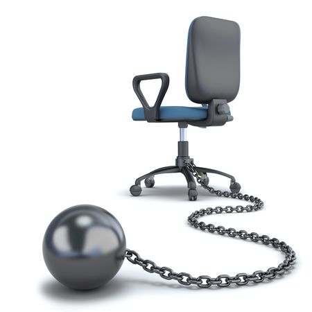 ball and chain: Employee