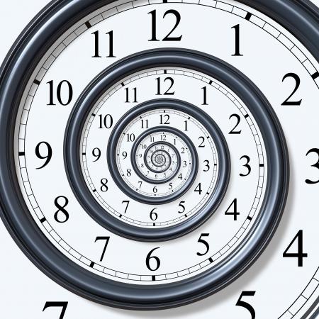 espiral: Espiral de tiempo  Foto de archivo