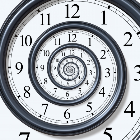 Time Spiral Stock Photo - 7290465