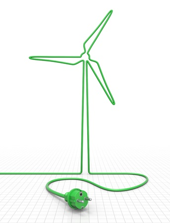 windpower: Alternative energy concept
