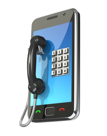 Mobile phone concept Stock Photo - 8669399