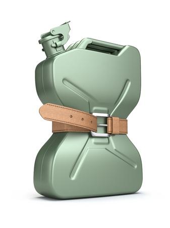 petrol can: Escasez de combustible