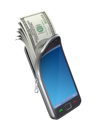 mobile security: Money in the mobile phone
