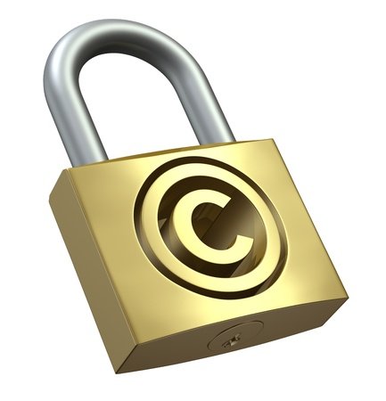 Copyright Protection Stock Photo - 9710295