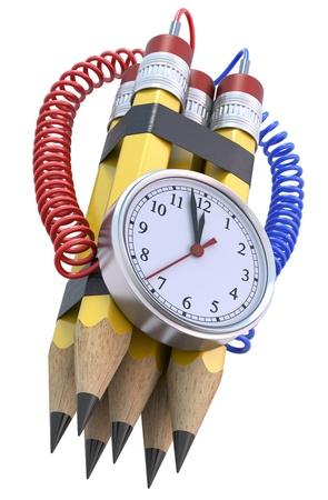 time bomb: Pencil bomb