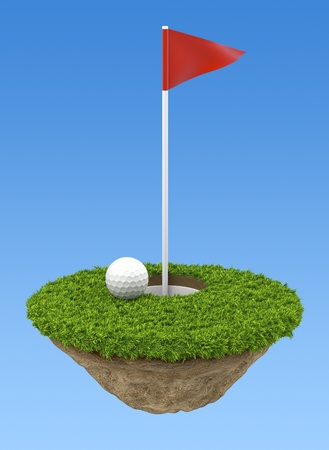 Golf terrain Stock Photo - 11959867