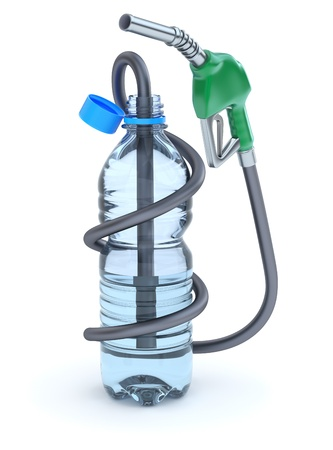 Water fuel Stock Photo