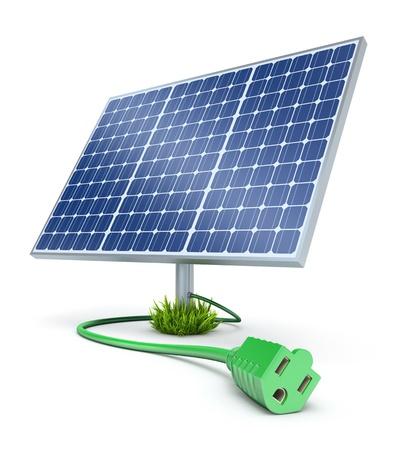 solar cells: Solar energy concept