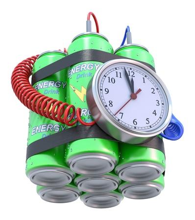 Energy drink bomb photo
