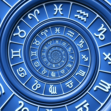 Zodiac spiral Stock Photo - 17737788