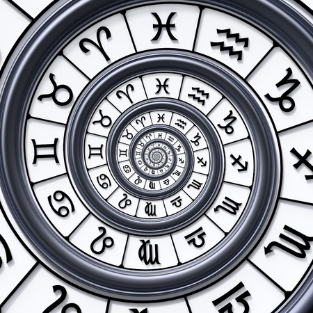 Zodiac spiral Stock Photo - 18732622