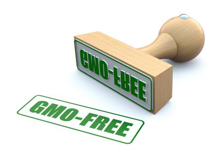 gmo: Ruber stamp-GMO free