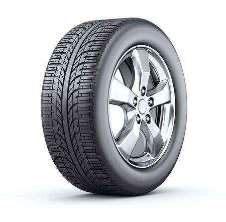 Car wheel Banque d'images