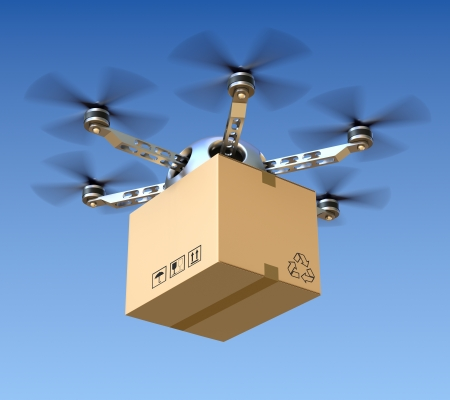 mail delivery: Delivery drone