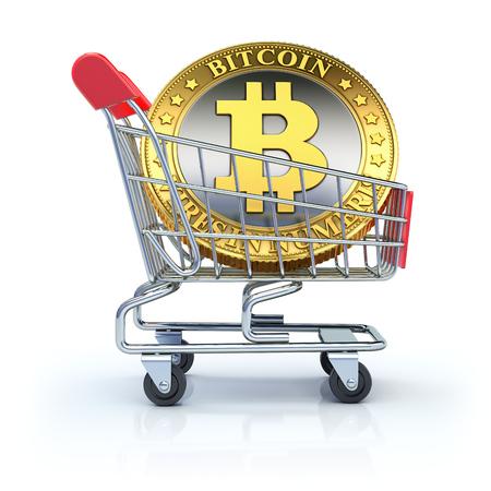 gold mining: Bitcoin in the shopping cart