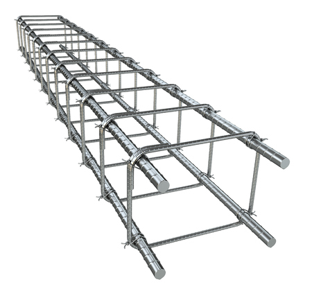 concrete structure: Reinforce iron rack