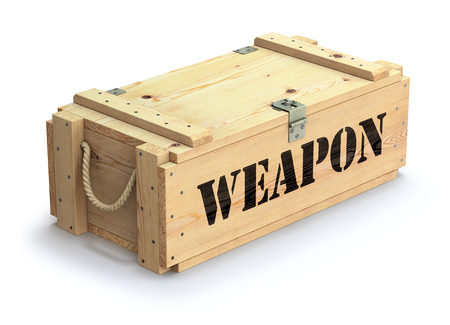 ammunition: Military wooden crate