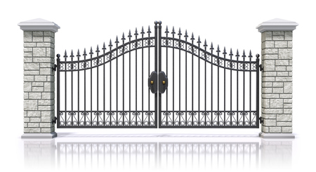 Iron gate photo