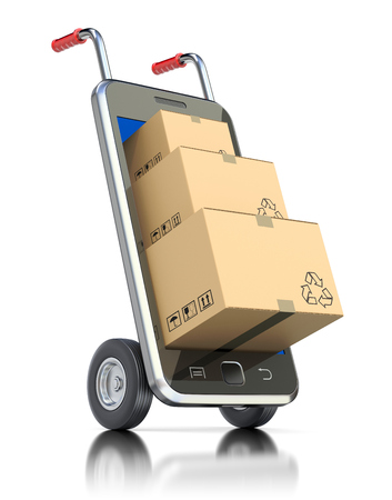 Package in the mobile phone