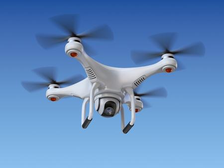 カメラとの Quadrocopter ドローン