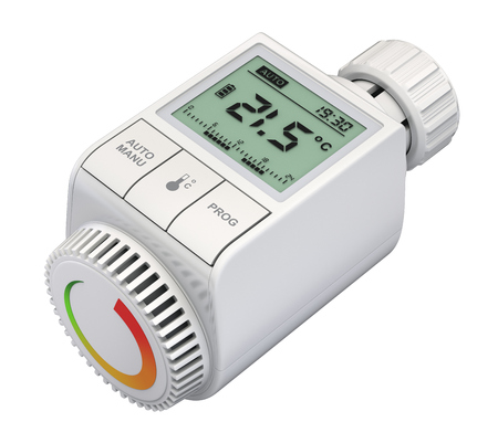 valves: Digital radiator thermostatic valve