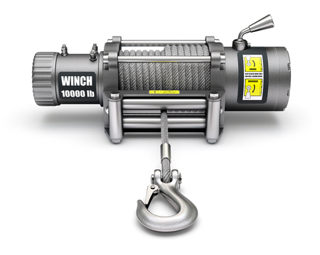 winch: Electric winch