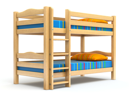 Kids bunk bed photo