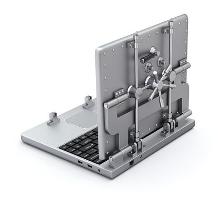virus protection: Vault laptop